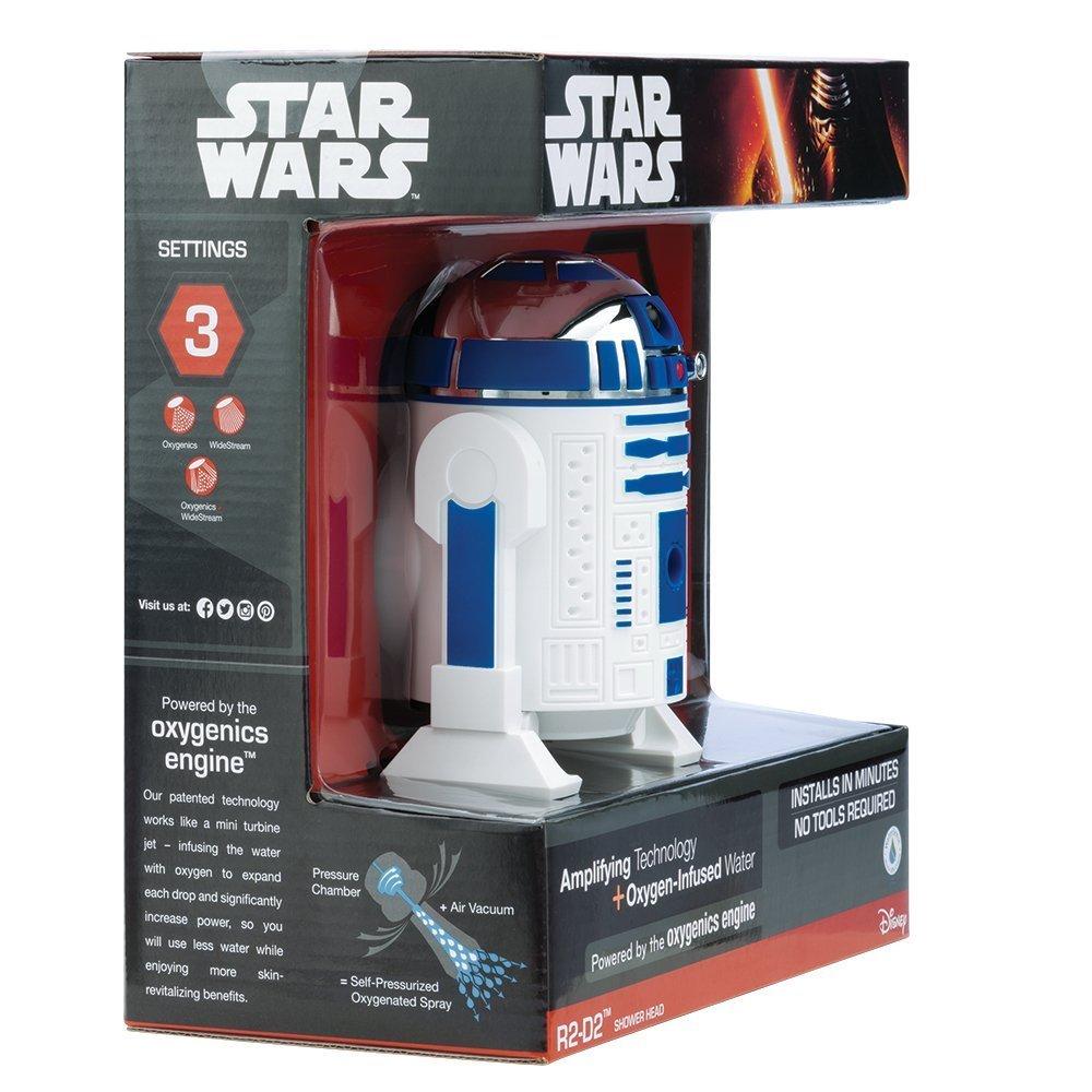 Oxygenics 73268 Star Wars R2 D2 Shower Head Atoz Store