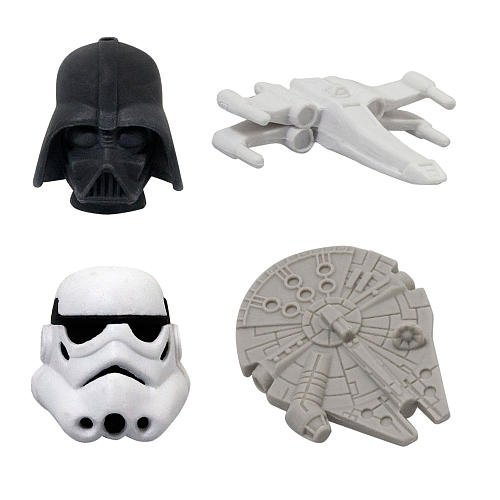 Star-Wars-Gomu-Erasers-4Pack-2-Secret-Erasers-B005UQRBZQ