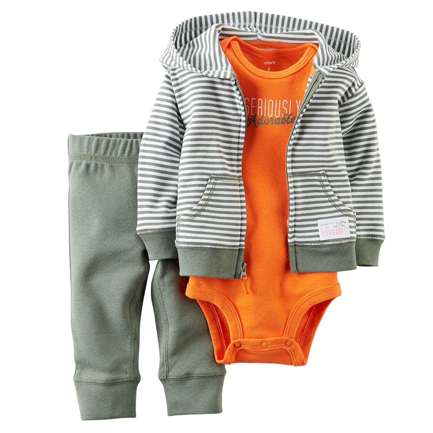 Carters Baby Boy 3-Piece Cardigan Set
